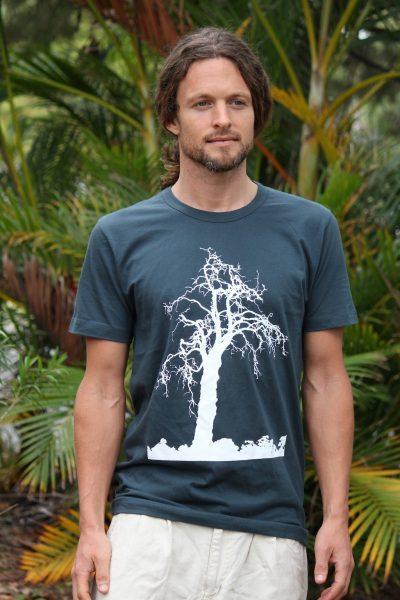 Tree Design :: Dark Green/Grey