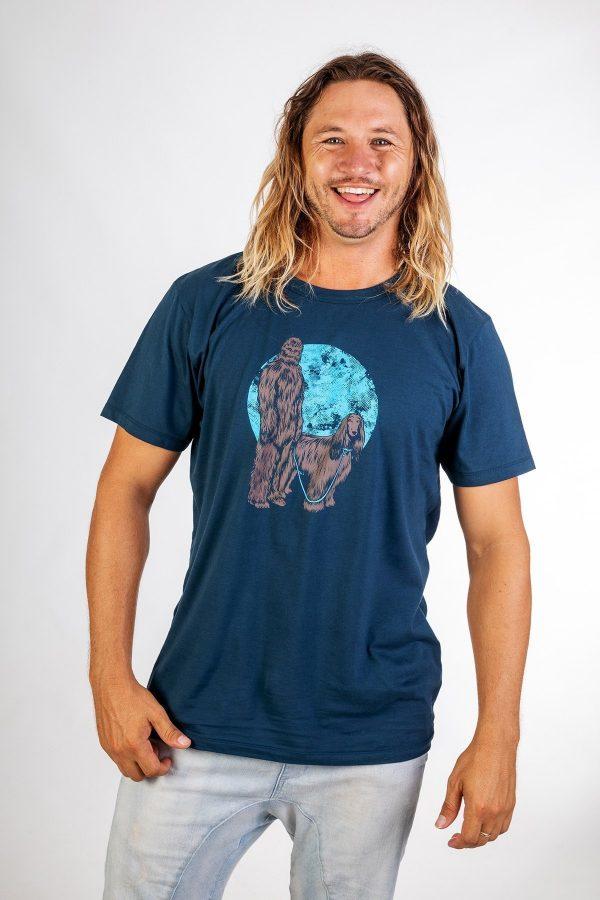 Chewbacca :: Navy Blue