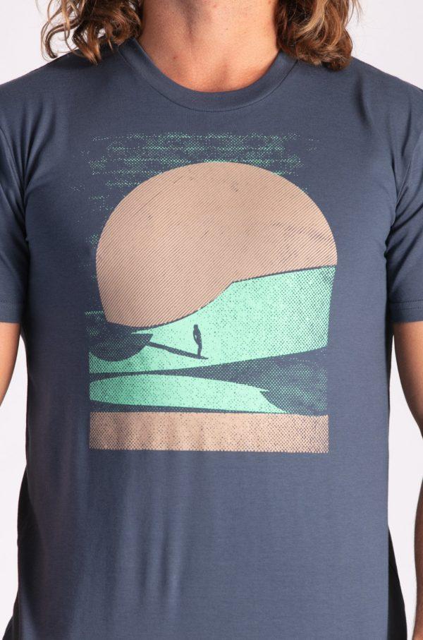 Surfing Sands :: Petrol Blue