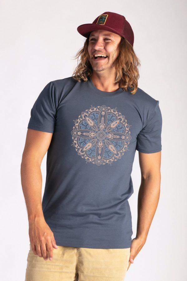 Surf Mandala : Petrol Blue